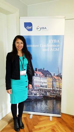 "Elisabeth Batista, Presidenta de la European Young Bar Association(""EYBA"") 